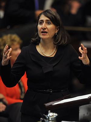 Gladys Berejiklian. Picture: AAP