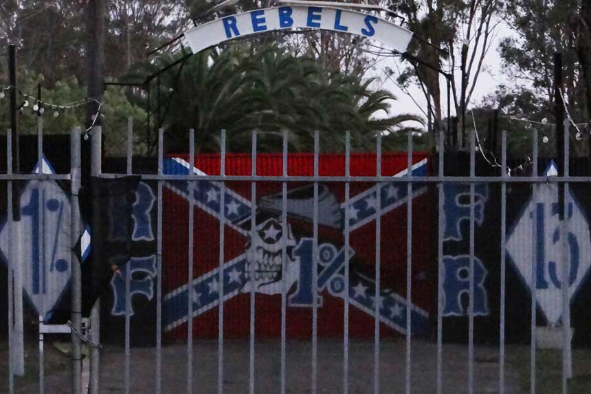Rebels clubhouse