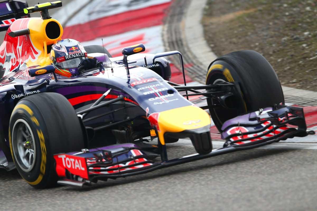 Once again, Daniel Ricciardo was faster than his Red Bull teammate.