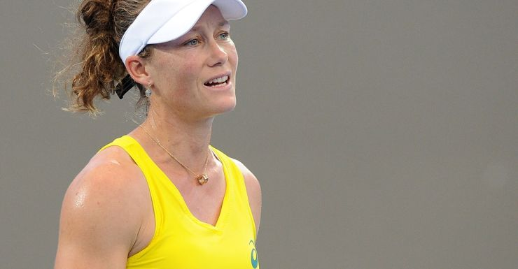 It was Stosur's first loss to Kerber.