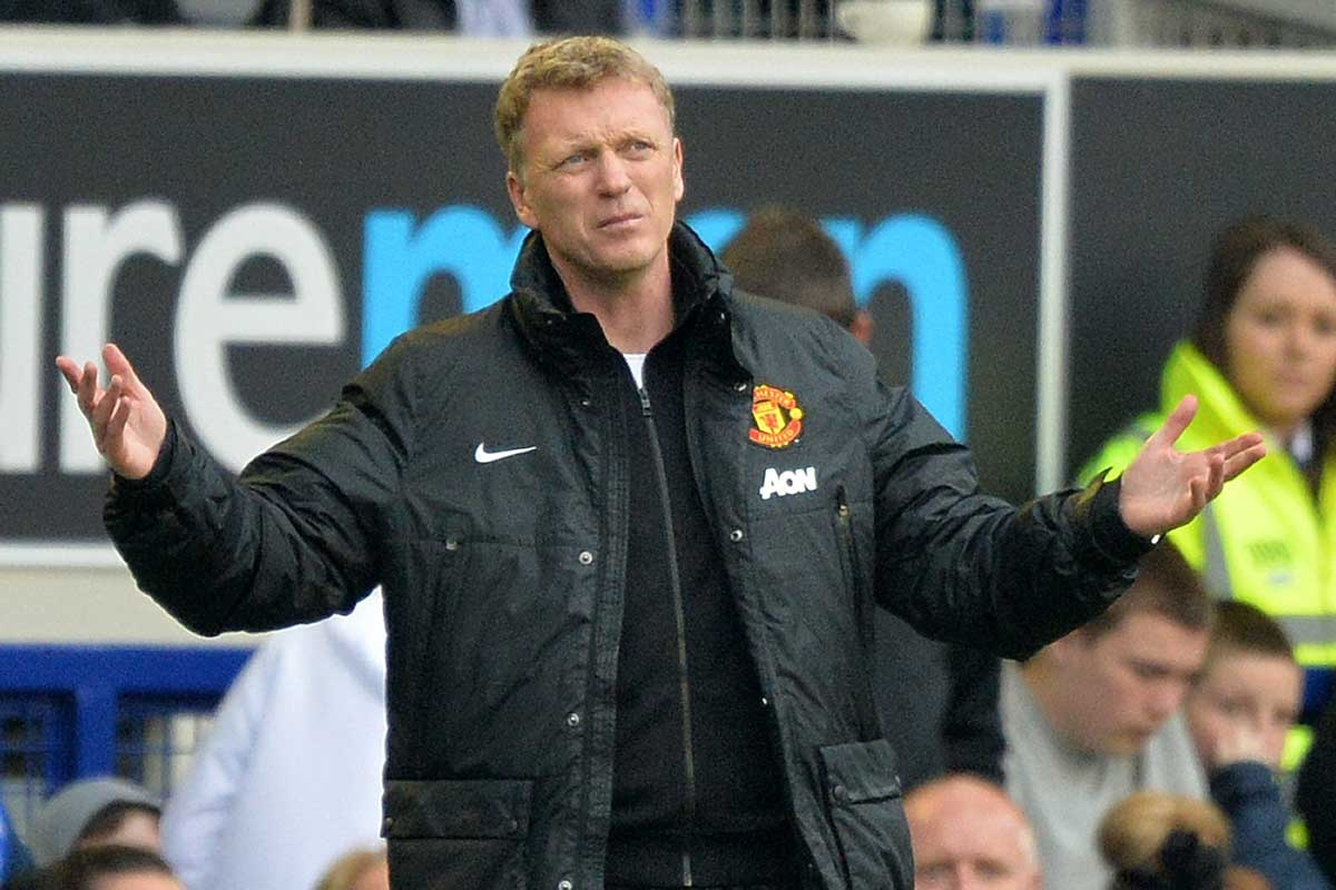 David Moyes was not exactly welcomed back with open arms.