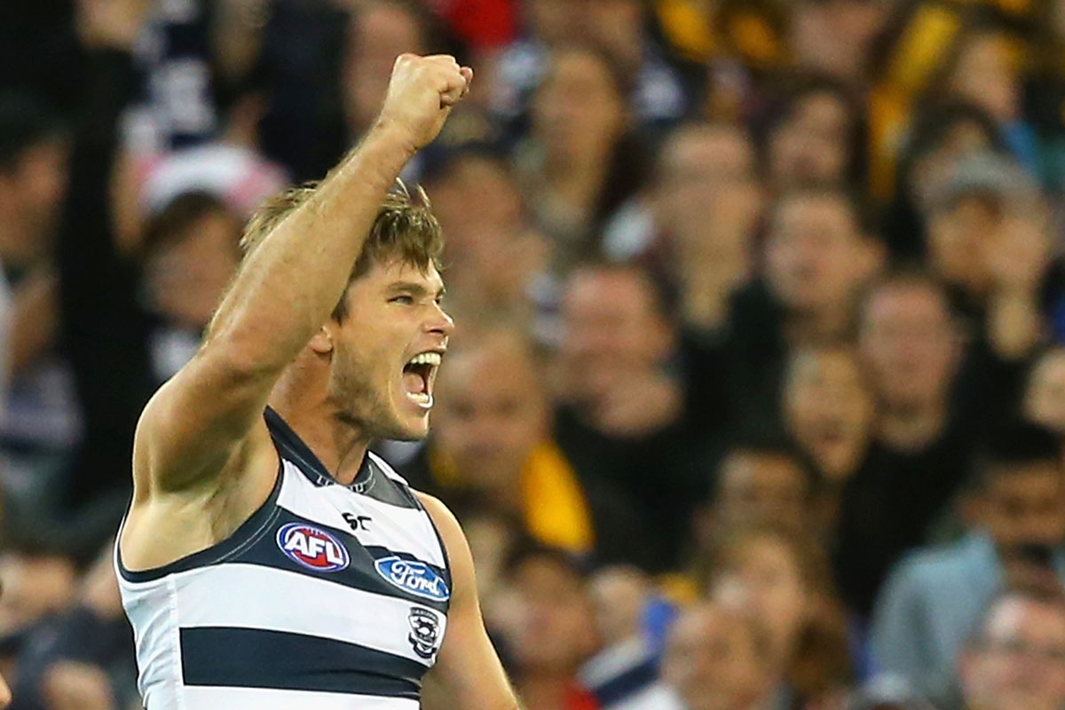 Jack Hawkins booted five goals in a powerful performance.