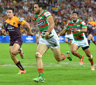 Greg Inglis' try was one of the greatest in history, Photo: Getty
