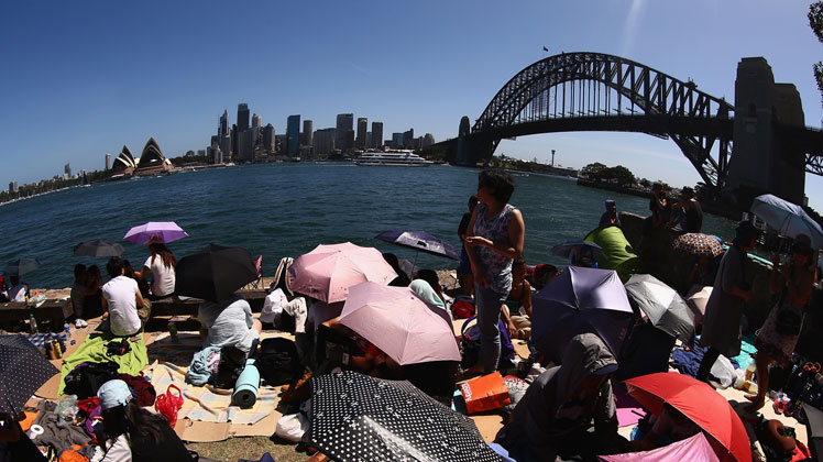 Peak demand: Staying in Sydney Harbour in New Year's is expensive.