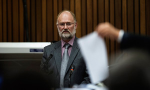Forensic Expert Roger Dixon. Picture: AAP