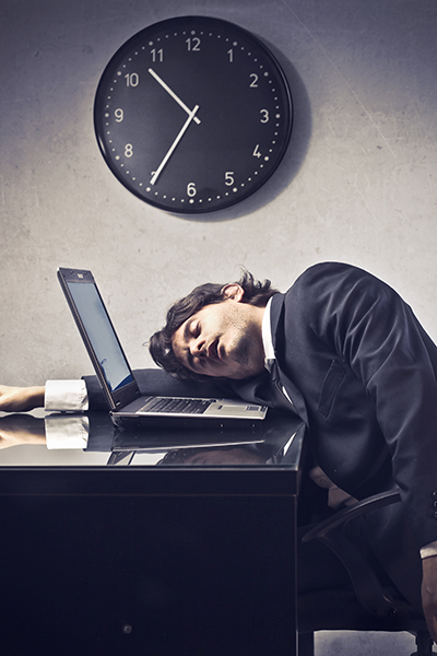 The end of being a slave to the clock. Picture: Shutterstock