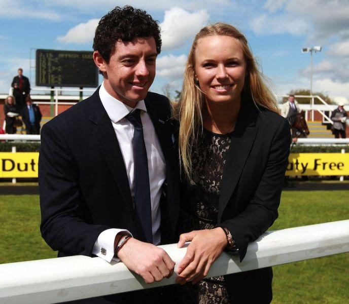 McIlroy and his former fiancee, Caroline Wozniacki.