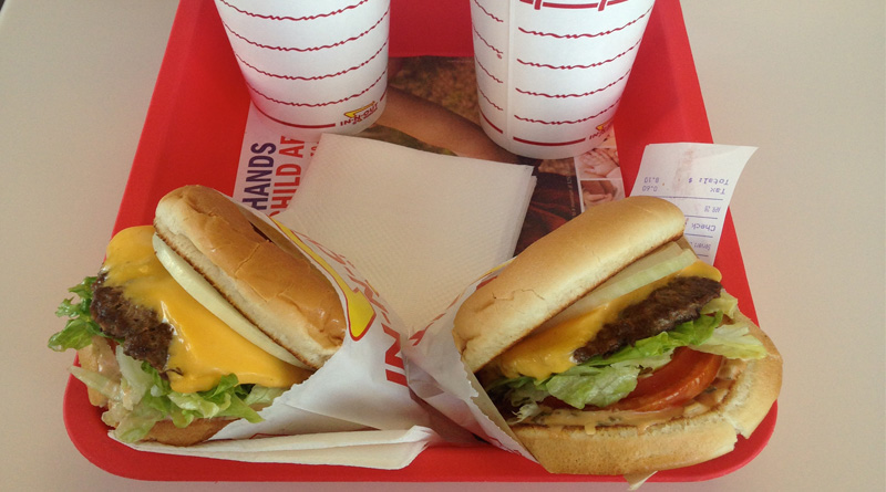In N Out burgers
