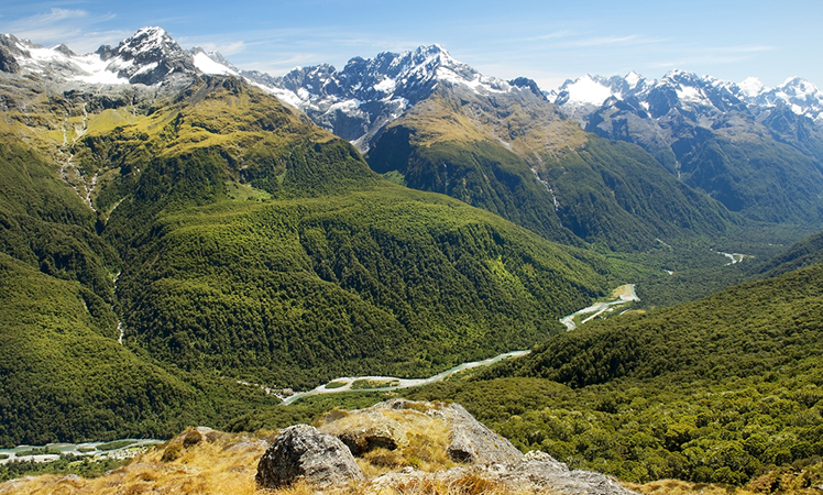 The South Island's Milford Track.
