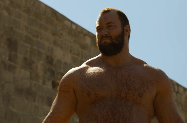 Cersei has The Mountain on her side.