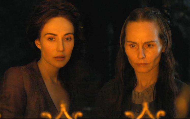 Melisandre and - look into the flames.