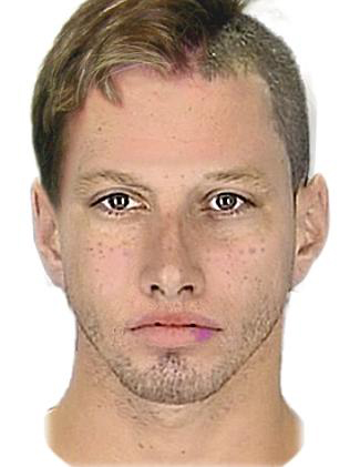 Police issued this photofit of a man wanted for questioning.