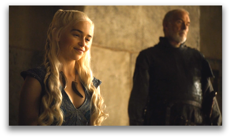 Daenerys meets with her people. Photo: HBO