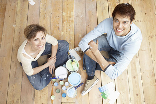 A lick of paint can work wonders. Source: ShutterStock.