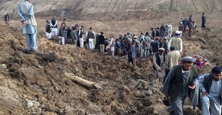 Afghan mudslide
