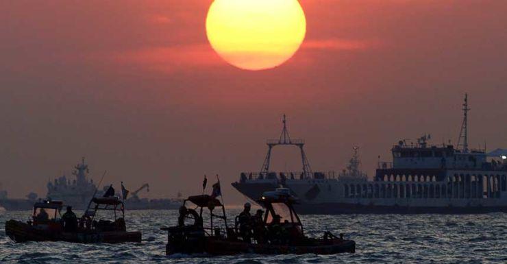 South Korean ferry rescue