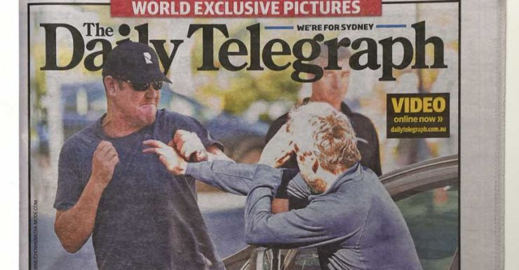 James Packer and David Gyngell