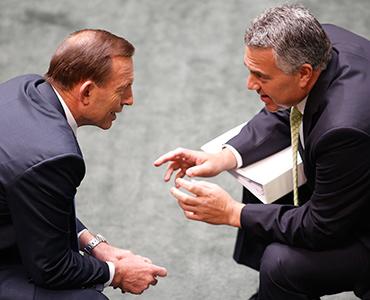 Joe Hockey, Tony Abbott