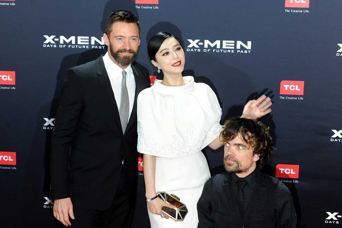 Jackman, Bingbing and Dinklage