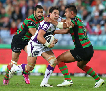 Back in town: Billy Slater was in top form. Photo: Getty
