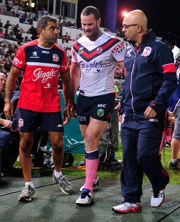 An ankle injury is likely to sideline Boyd Cordner. Photo: Getty