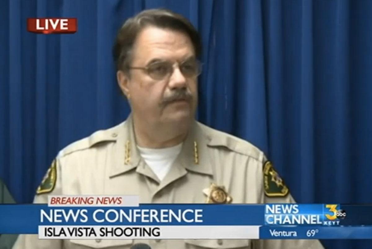 Bill Brown, Santa Barbara County Sheriff.
