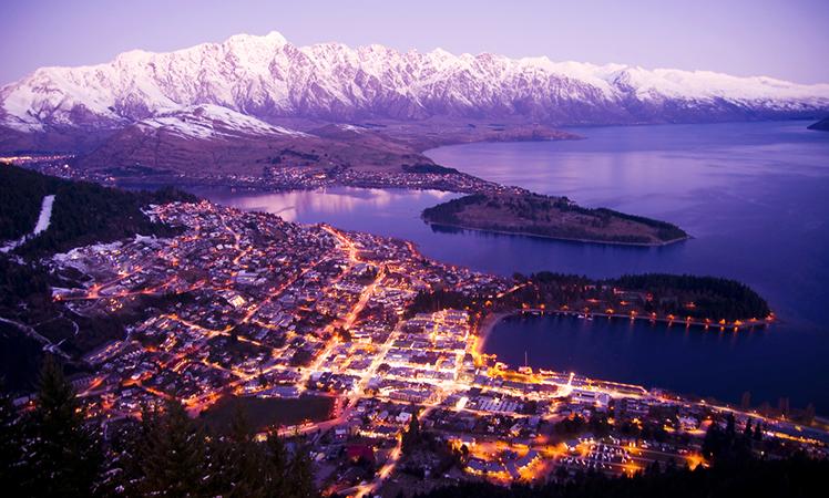 Queenstown is New Zealand's adventure capital.