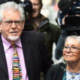 Rolf Harris with wife Alwen.