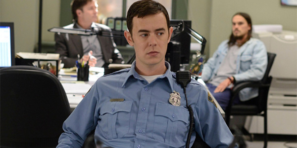 Colin Hanks as Deputy Grimly in episode three. Photo: Supplied