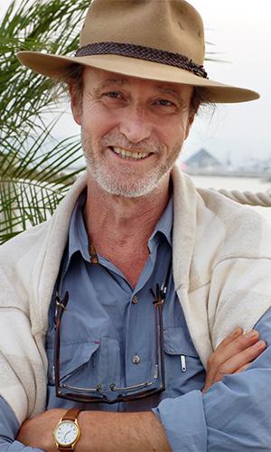 Rolf de Heer at Cannes in 2006 for his film Ten Canoes. Photo: AAP