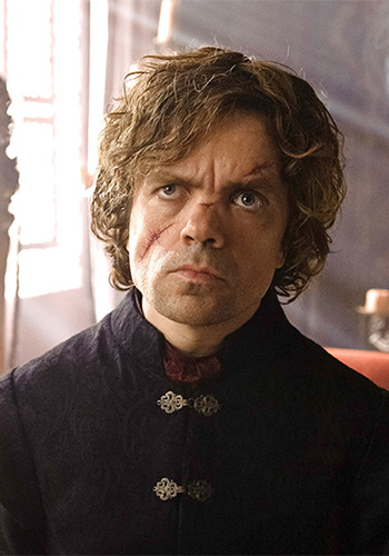 As Tyrion Lannister in Game of Thrones. Photo: Supplied