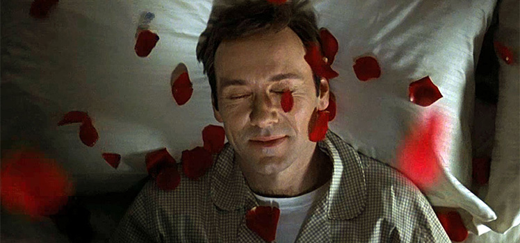 Kevin Spacey in American Beauty. Photo: Supplied