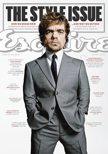 Peter Dinklage is a bona fide movie star - who just happens to be short statured. Photo: Esquire