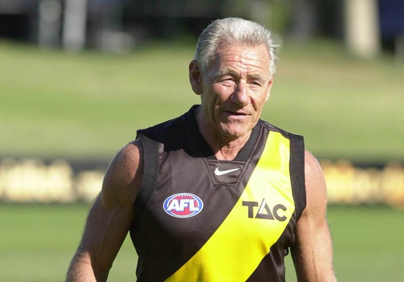 Richmond's four-time premiership coach Tom Hafey has died.