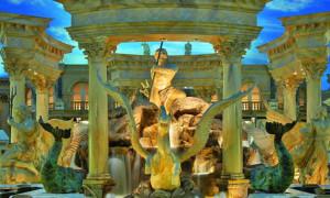 Forum Shops at Caesars Palace.