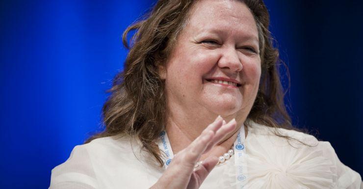 Gina Rinehart Australian billionaire