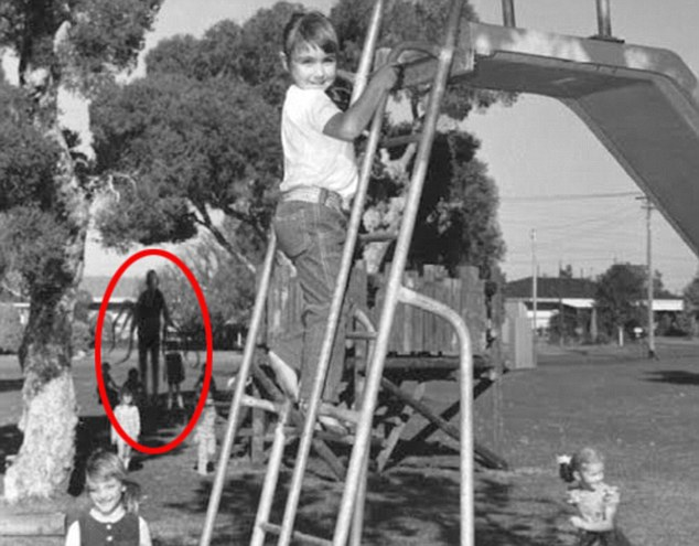 One of the first known images containing the Slender Man.