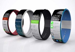 The anticipated design of theApple iWatch.