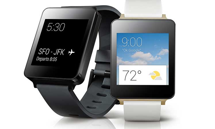 LG's new Android Wear-powered watch.