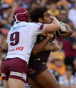 Sam Thaiday seems destined for Origin II. Photo: Getty