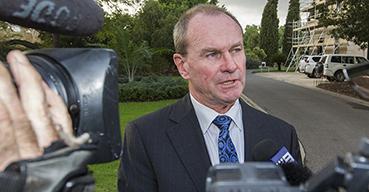 Former South Australian Liberal leader, now Labor minister Martin Hamilton-Smith.