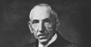 Former Prime Minister William Morris Hughes.
