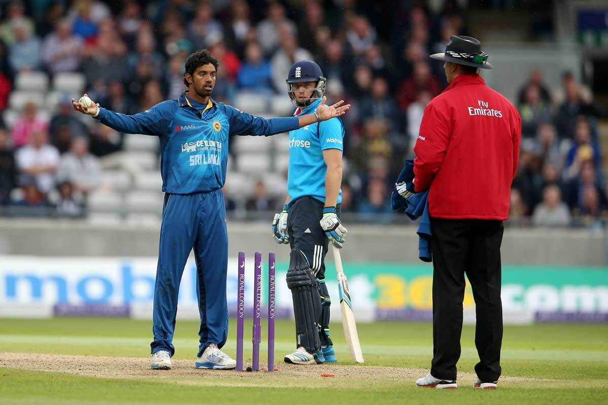 How it that? It's a Mankad.