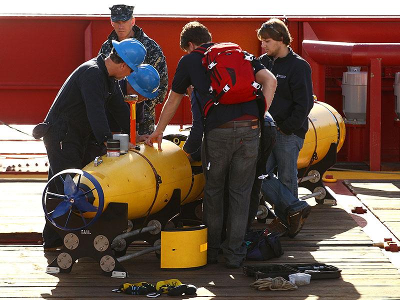 Australian Ocean Shield Departs For MH370 Search Area
