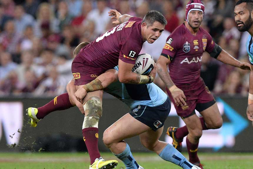 Corey Parker lines up for his 18th Origin game.
