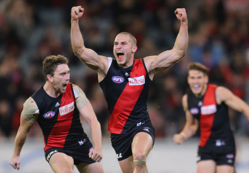 David Zaharakis was in vintage 'Anzac Day' form. Photo: Getty