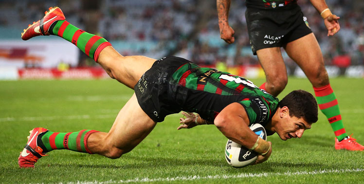 Kyle Turner is an outstanding prospect for the Rabbitohs. Photo: Getty