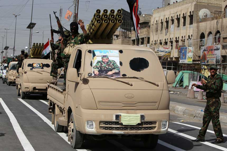 Shiite fighters