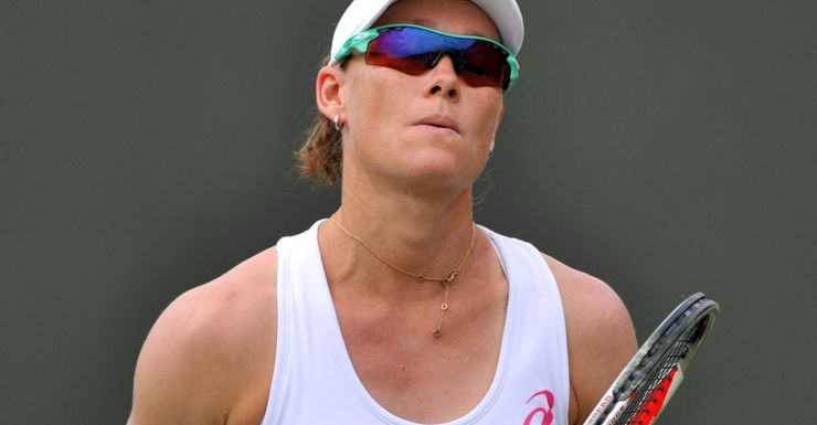 Sam Stosur once again made an early Wimbledon exit.