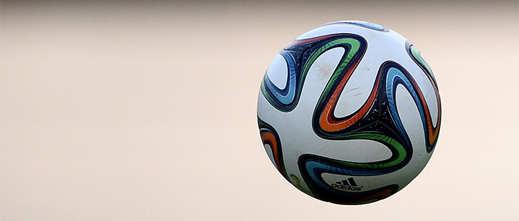 The official FIFA 2014 World Cup football. Photo: Getty